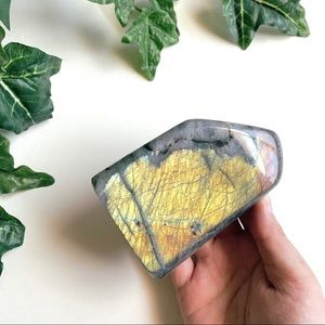 Flashy Polished Labradorite Freeform